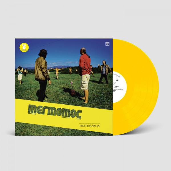 """Kde je člověk, když spí? (žlutý vinyl 12"""")"""