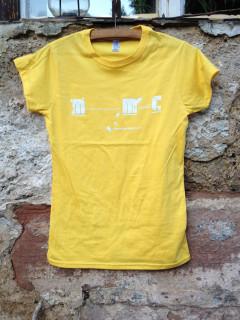 Dámské triko Mermomoc - žluté