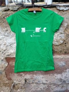 Dámské triko Mermomoc - zelené