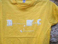 Dámské triko Mermomoc - žluté (detail)